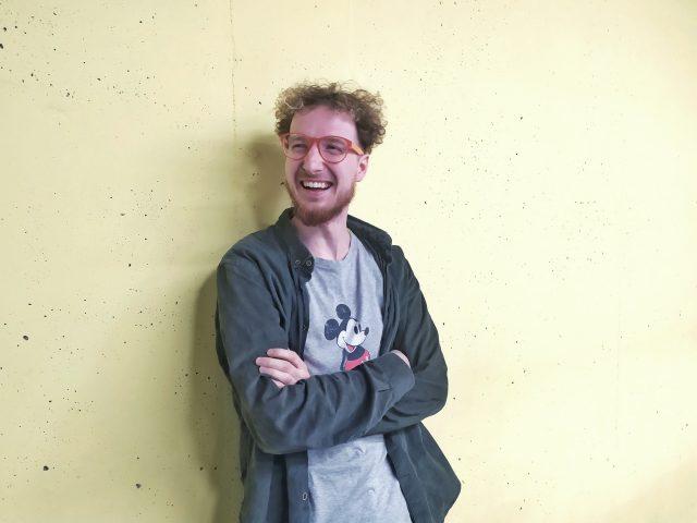 Ionuț, fondatorul laboratorului ZARD ART
