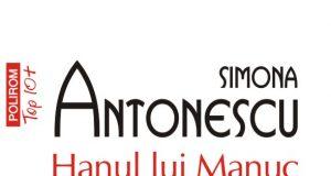 """Coperta cărții """"Hanul lui Manuc"""", de Simona Antonesscu"""