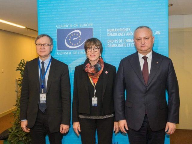 29 ianuarie 2020, Igor Dodon a avut o întrevedere cu co-raportorii APCE pentru Republica Moldova, Sursa foto: www.president.md