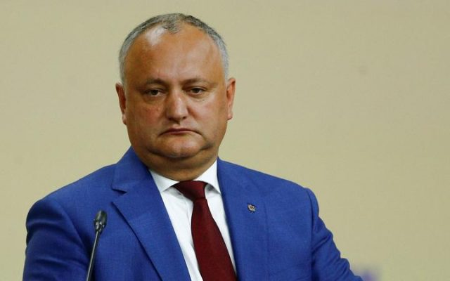 Igor Dodon, sursa foto: www.azerbaycan24.com