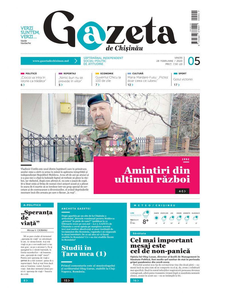 Ediția 05 din 28 februarie