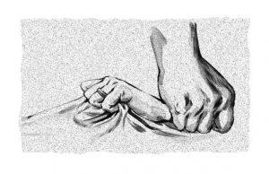 Ilustrație de Tuan Nini, sursa: dor.ro/dor-24-inegalitatea-de-acasa/