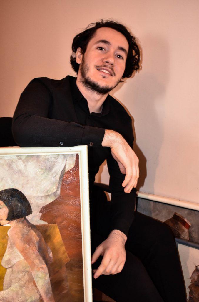 arhiva personală, pictorul Constantin Botezat în timpul izolării