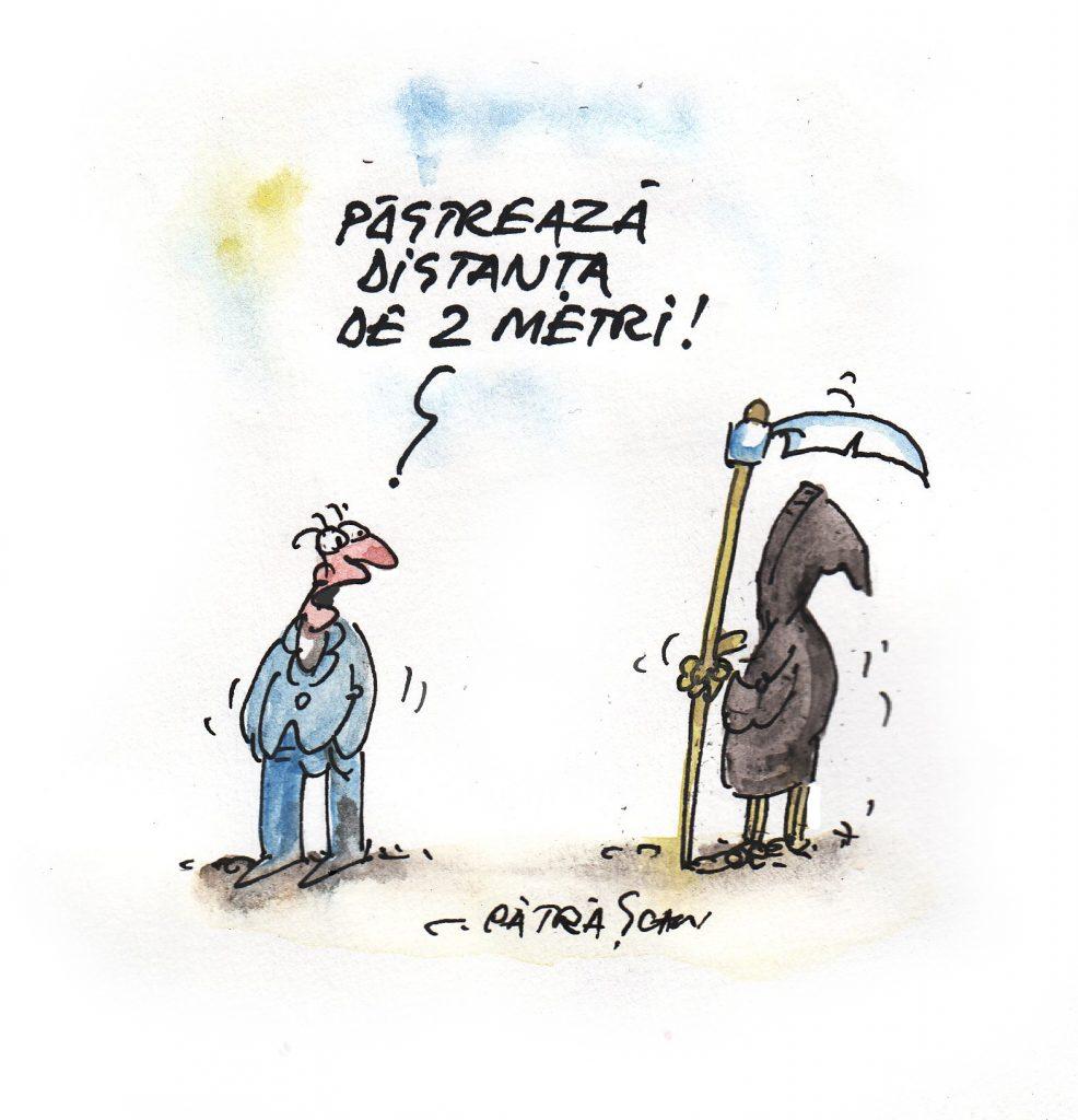 Caricatură de Costel Pătrășcan