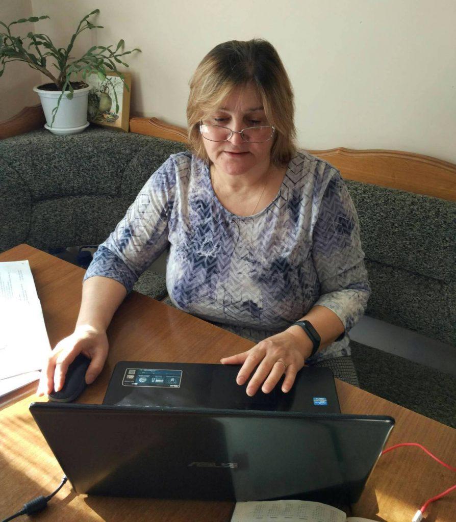 FOTO 1: arhiva personală, profesoara Tamara Negară din Chișinău