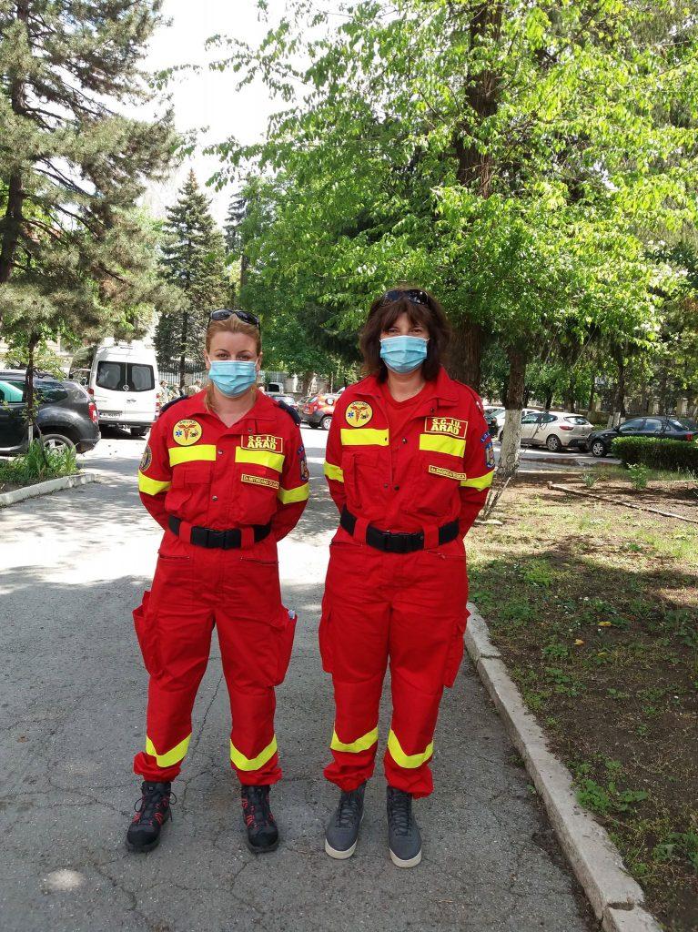 Olga Mitreanu și Rodica Băginean, Spitalul Clinic Județean de Urgență Arad