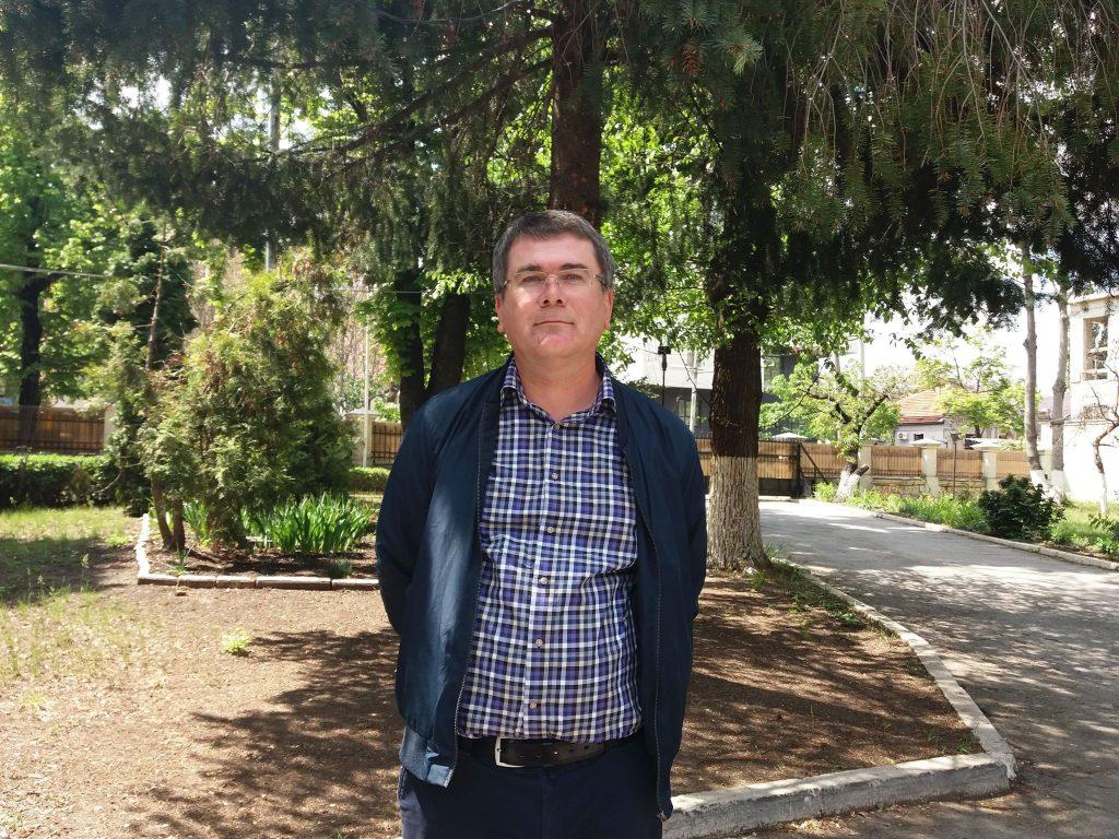 Dorin Pulbere, medic primar ATEI, Spitalul Pneumologie Iași, România