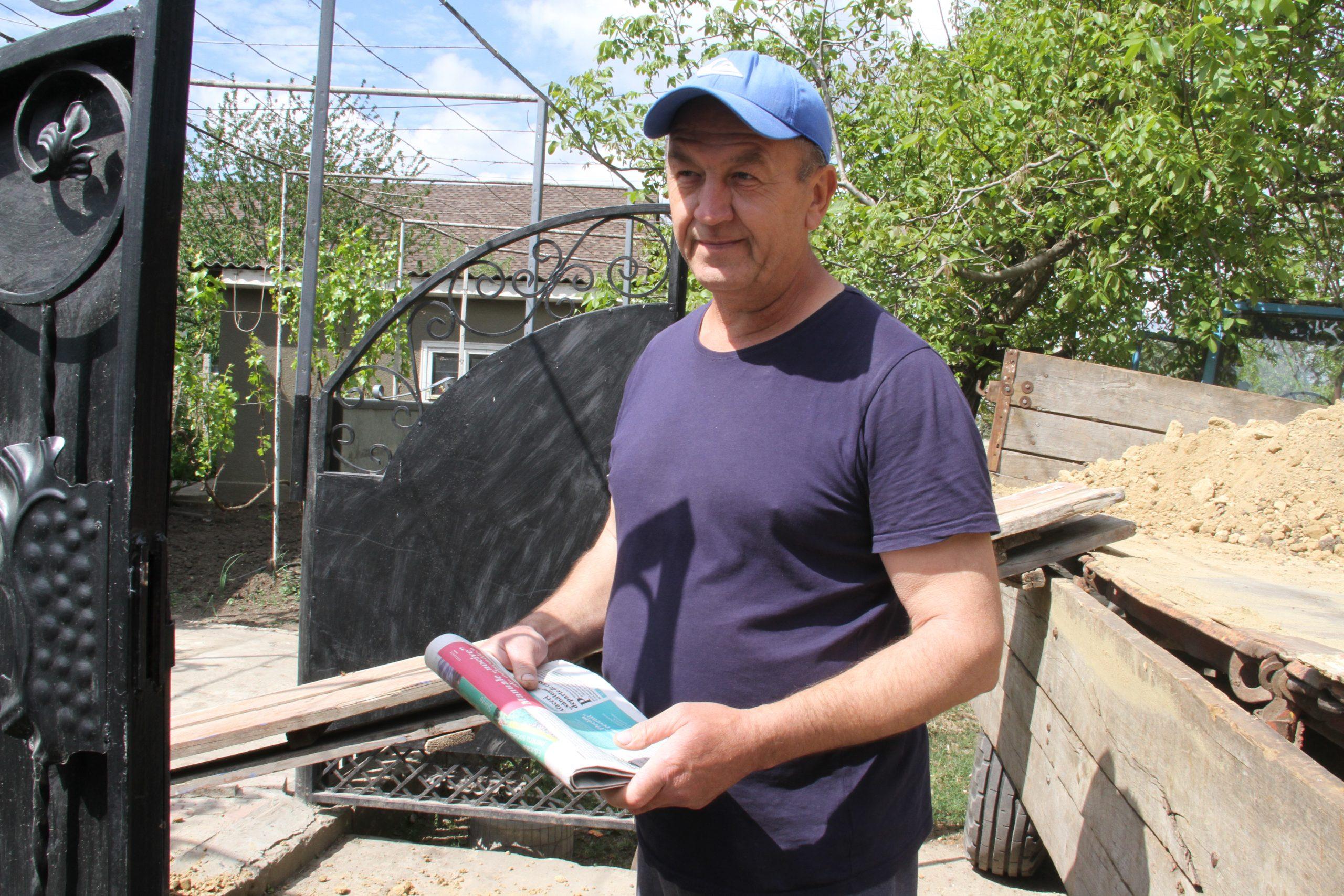 Igor Bereghici, șeful Nodului Feroviar Ungheni, Foto: Natalia Munteanu
