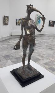 Tandem, sculptură de Pavel Obreja