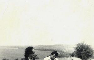 Anul 1985: Grigore Vieru și Ștefan Petrache la Ciutești, Nisporeni
