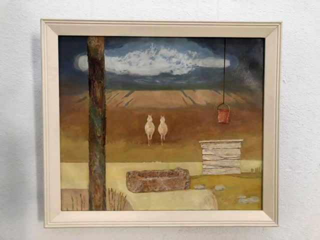 """""""Ceva despre cai"""" de Igor Vieru, expoziția """"Timp fără timp"""""""