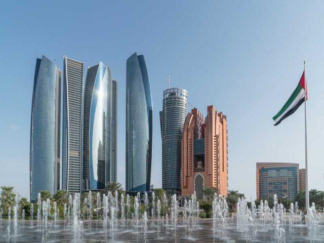 Centrul Abu Dhabi Global Market din Dubai (Emiratele Arabe Unite), unde își are sediul firma Vanguard International a lui Plahotniuc. Sursa foto: worldfinance.com