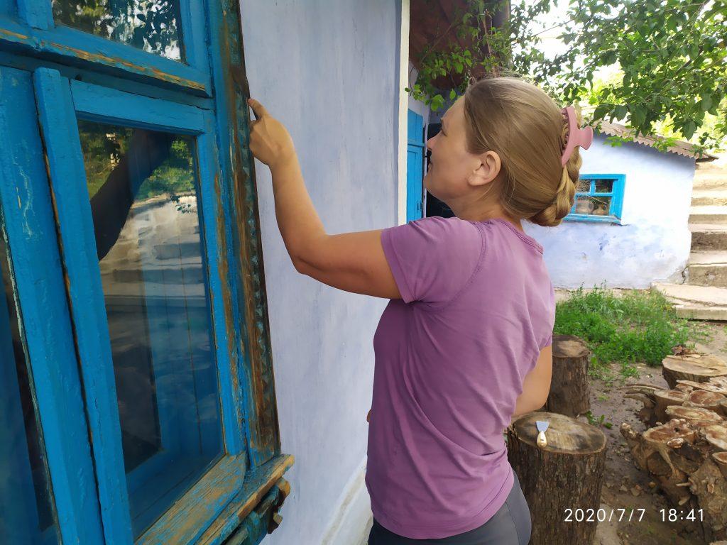 Arhiva personală. Renovarea casei din Molovata Nouă