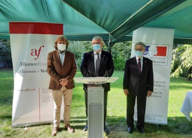 Virgiliu Mărgineanu, Igor Șarov, Pascal Le Deunff