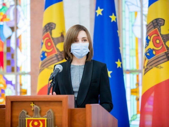 Maia Sandu, la Președinție