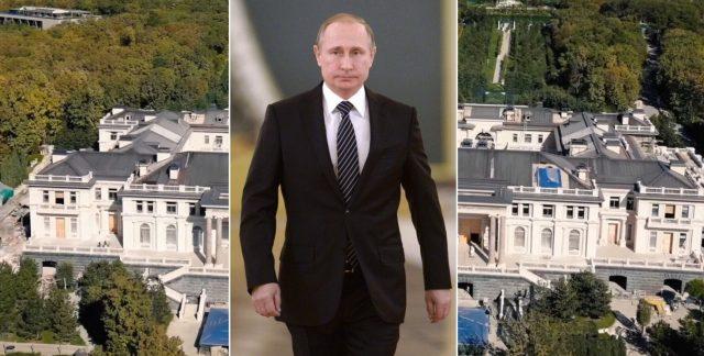 Putin și palatul de la Gelendzhik