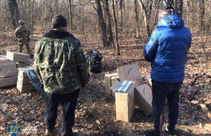 Contrabandă cu țigări din Transnistria, în Ucraina