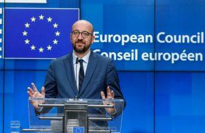 Președintele Consiliului European, Charles Michel