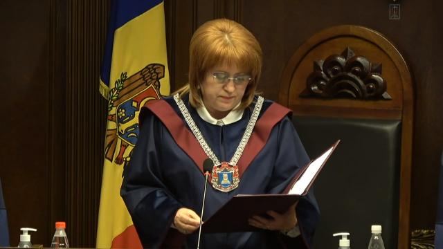 Președinta Curții Constituționale, Domnica Manole