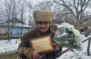 Veteranul Armatei Române, Constantin Cojocari, omagiat la vârsta de 102 ani