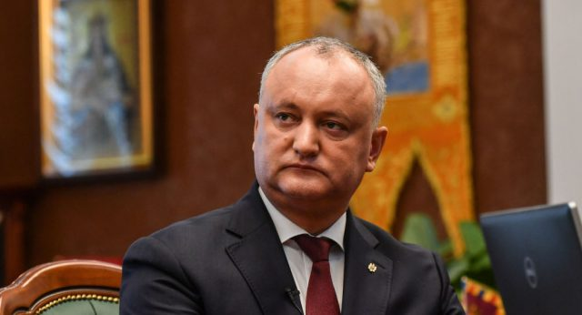 Liderul PSRM, Igor Dodon