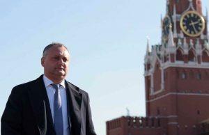 Dodon la Kremlin