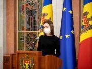 Președinta Maia Sandu