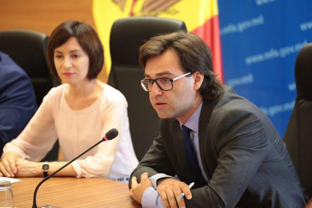 Nicu Popescu și Maia Sandu