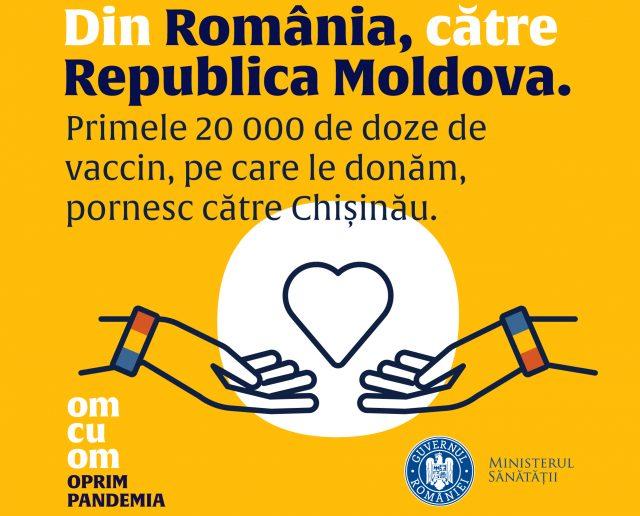 """Campania """"Om cu om oprim pandemia"""""""
