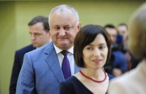 Igor Dodon & Maia Sandu