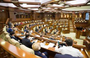 Ședință în plen a Parlamentului R.Moldova