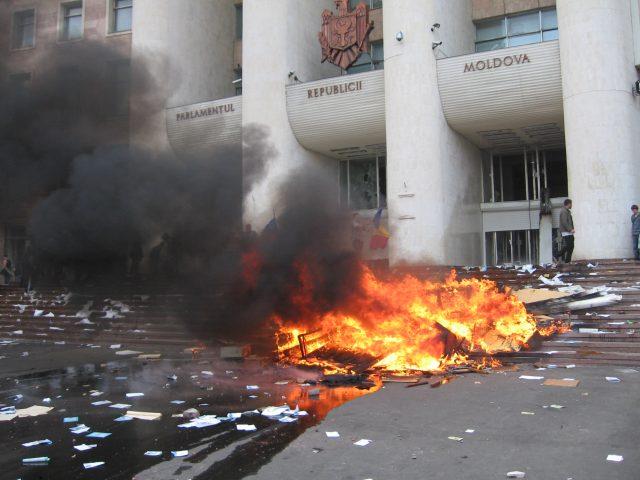 Protestele din 7 aprilie 2009